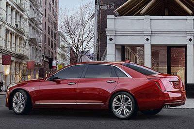 Cadillac CT-6 is a luxurious sedan with exterior style.