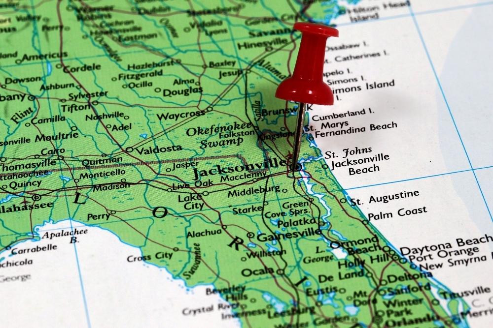 I 95 Map Florida.I 95 I 295 North Interchange Project Kicks Off In Duval County