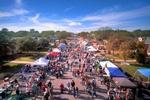 The city's annual Deutschenpfest draws thousands of tourists each year.