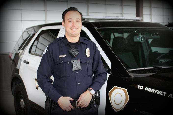 Johnston Police Sgt. Zach Grandon