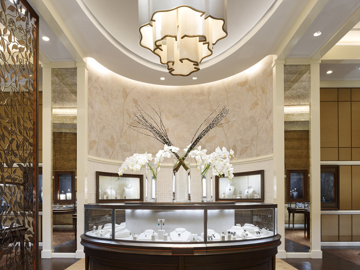 The Dhamani boutique in Dubai.