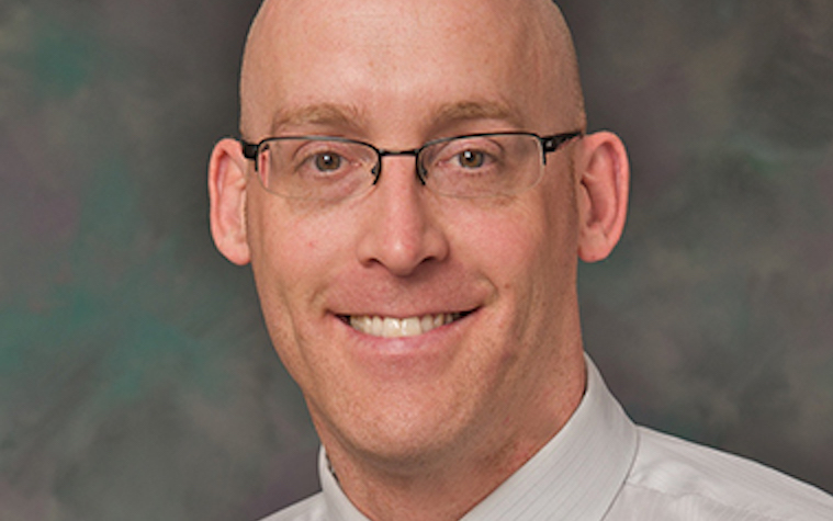 Brock Rops works at the Sioux Falls campus of the University of South Dakota Sanford School of Medicine.