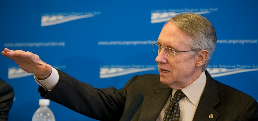 Senate Democrat leader Harry Reid vows fight for Garland