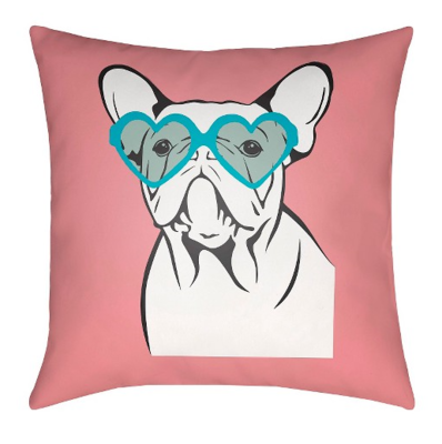 Surya Puppy Love Pillow: $29.99