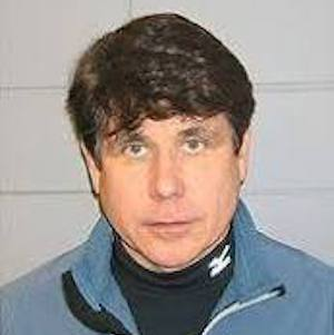 Former Illinois governor Rod Blagojevich on the day of his arrest for corruption in December 2008.