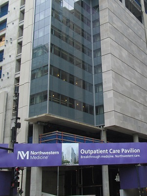 Cook County man sues Northwestern Hospital, four doctors in