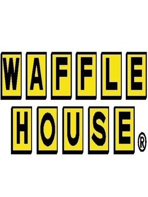 Large waffle house logo
