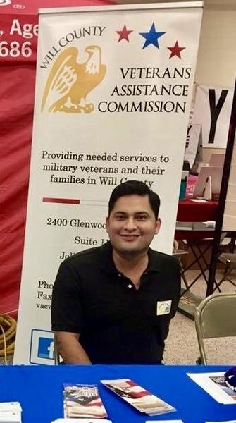 Veteran service officer Daniel Acosta