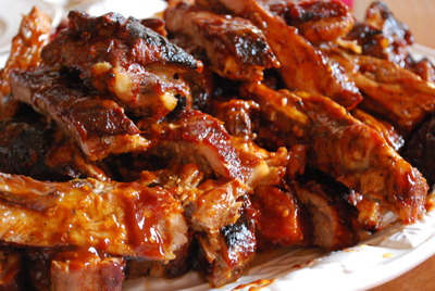 Famous Foods serves a variety of BBQ