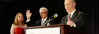 Ron Croushore was recently sworn in as president of the Pennsylvania Association of Realtors.