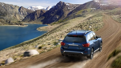 The latest Pathfinder is capable of handling itself on and off the road.