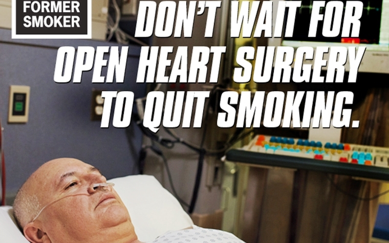 Ex-smokers have rallied behind the CDC's anti-smoking ad campaign and quit-line.