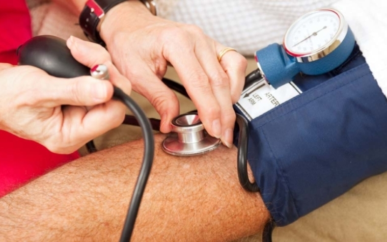The American Heart Association states that treating blood pressure at 140/90 is appropriate.
