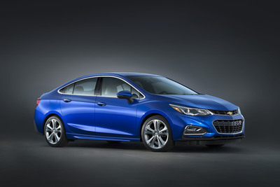 The Cruze does away with its slab-sided design as well as the previous 138-horsepower base engine. Curves, sharp body lines and new turbocharged engine are what you get now.