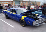 This particular car show raises money for the band program at Rouse High School.