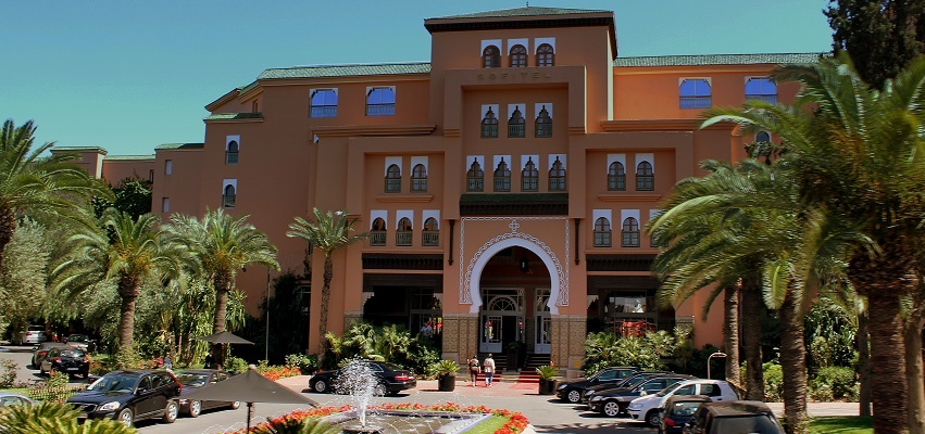 Morocco's leaders hope that an increasing reputation for democratic stability will increase tourism to places like this, the Sofitel Hotel in Marrakesh.