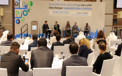 Dubai Chamber hosts event focused on businesses wanting to achieve sustainable development
