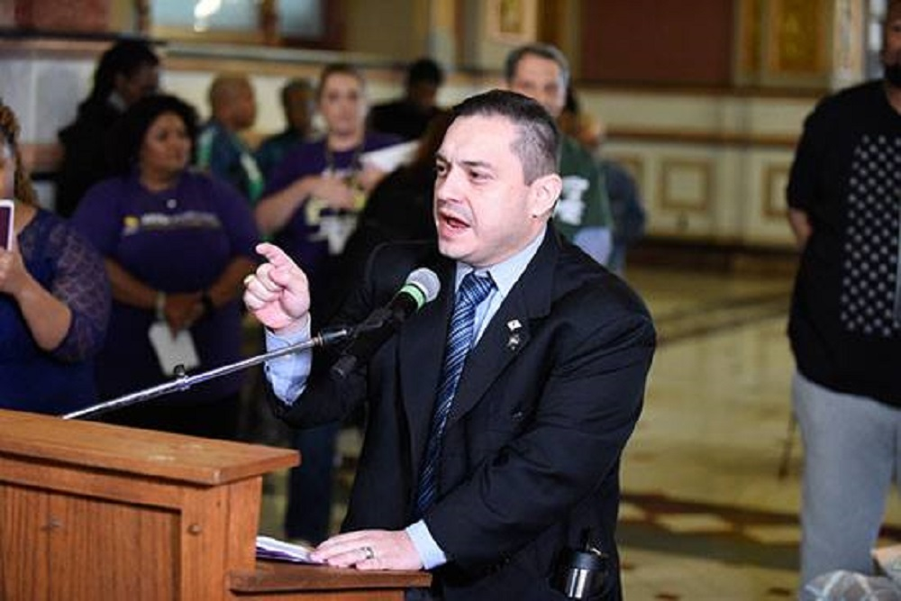 Illinois State House Rep. Jaime Andrade Jr. (D-Chicago)