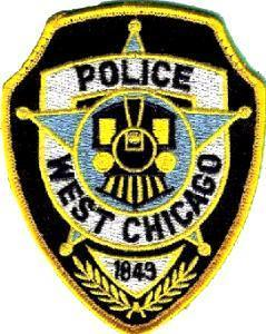 Medium west chicago police patch