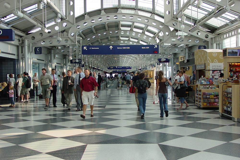 O'Hare International Airport Terminal 1, Concourse B