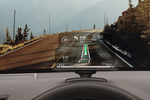 With a heads-up display, you can get directions without taking your eye off the road.