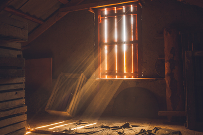 A poorly insulated attic not only lets heat in, it also lets cool air out.