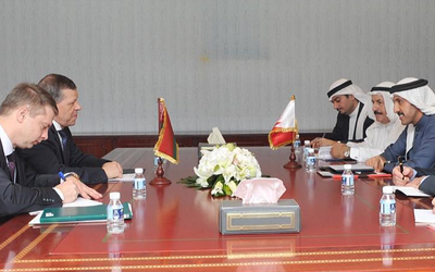 Bahraini foreign minister meets with deputy foreign minister of Belarus