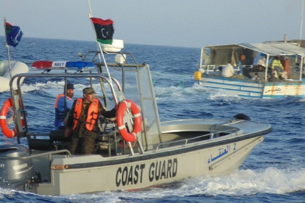 The mission was approved to assist and provide equipment to the Libyan Coast Guard.