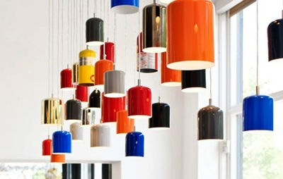 Upcycle your extinguishers into contemporary lightshades.