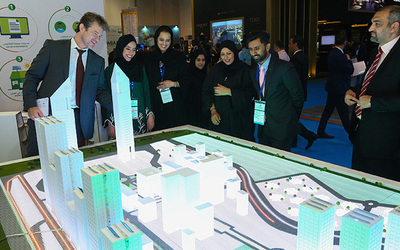 DEWA participates in Cityscape Global 2016, promotes Shams Dubai initiative