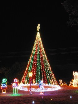 The Trail of Lights is an annual December event in Lakeway.