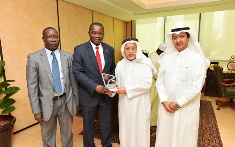Council of Saudi Chambers of Commerce and Industry (CSC) Chairman Abdulrahman Al Zamil recently met with Alioune Sar, who serves as Senegal's commerce minister.
