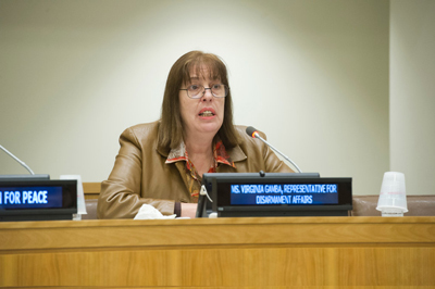 Virginia Gamba of Argentina is appointed to lead the Joint Investigative Mechanism Panel.