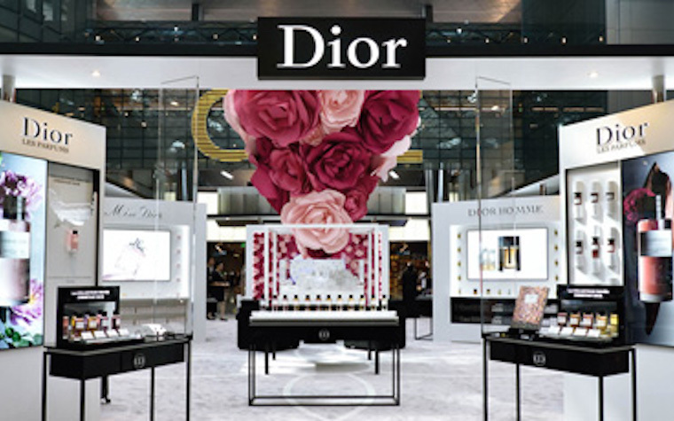 Dior debuts new fragrance display at Hamad International Airport