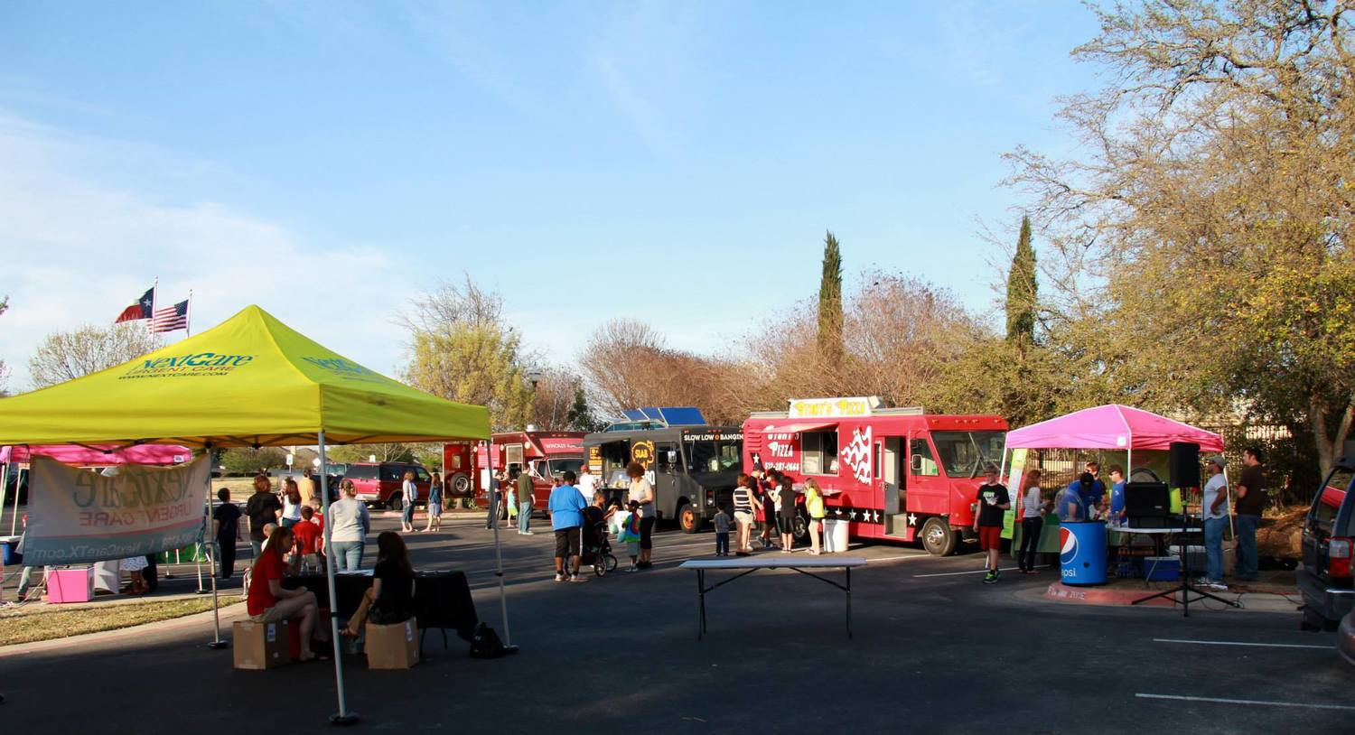 The Community Music and Food Truck festival is one of several activities in that happens in Avery Ranch throughout the year.