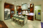 Gourmet kitchens and more are part of the Travisso package.