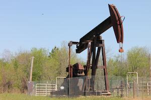 Large oilwell
