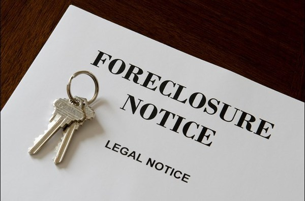 Large foreclosure