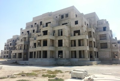 A studio apartment is available in Mit AL Khail Heights.