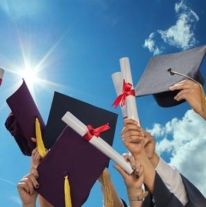 Three trustees volunteered to serve at the Greenfield eighth-grade graduation ceremonies.
