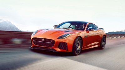 2017 Jaguar F-Type Coupe