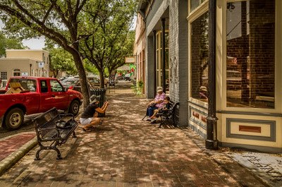 Bastrop's charming downtown area is rich with history.