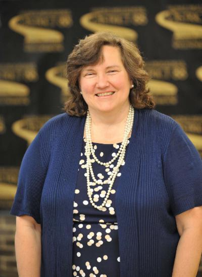 District 88 Board of Education President Donna Cain