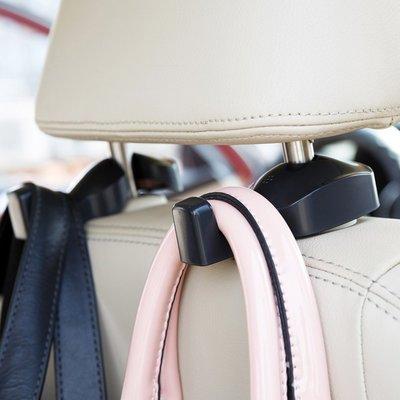 Headrest-hanger hooks