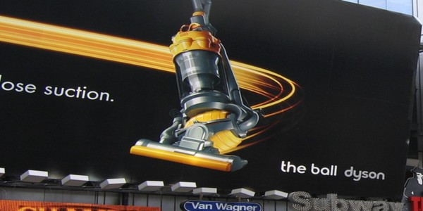 Large dyson billboard broadway