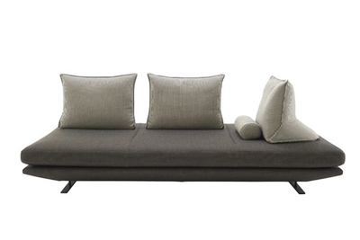 Some designers are taking a decidedly modern approach to the classical settee.
