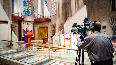 Many church services, including masses throughout the Archdiocese of Detroit, are being livestreamed.