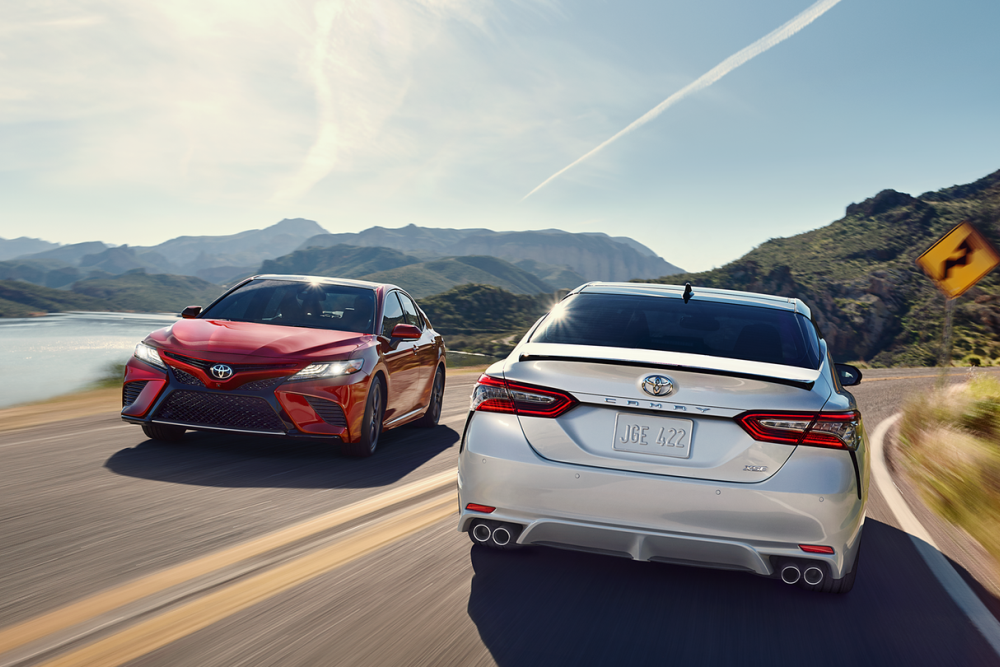 The Toyota Camry sedan is a favorite because it's designed for the driver's comfort.