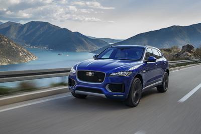 The 2017 Jaguar F-Pace