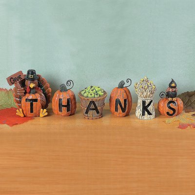 Give Thanks blocks set